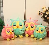"Free shipping - roumang owl Stuffed Plush toy 7"",cut owl phoebe,soft animal toy,fabric doll gift"