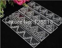 wholesale ten sets of 4pcs lace mold for fondant cake decoration