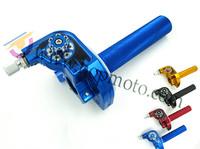 NEW Performance CNC aluminum alloy throttle handle grip for Dirt Bike/ Pit Bike Parts