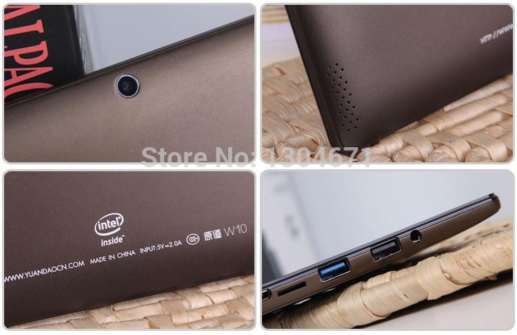 New Arrival 10 1 inch Windows 8 1 Tablet PC Vido Yuandao W10 2GB 32GB Intel