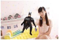 Wholesale or Retail Kids  25cm Black Batman Plush Toys The Avengers Member Movie Stuff Dolls FigurinesTV Heroes Figures Gifts