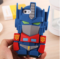 3D Cute Cartoon Super Hero Soft Silicone Cover Case For Iphone 5/5S