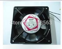 Free Shipping! All copper SUNON 12038 HBL fan exhaust fan 220V 12CM double ball kitchen       1020