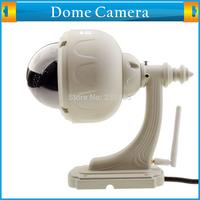 Plug&Play IR Cut Night Vision Outdoor IP Camera Wireless Pan/Tilt Internet Access Motion Detecting Waterproof Dome Camera Wifi