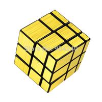 ShengShou 3x3 Golden Twisty Puzzle Mirror Magic Cube 3x3x3 Twist Puzzle Educational Toys Children Gift Toys