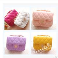 Children bags messenger bag fashion small sachet chain bag female child princess messenger bag chain