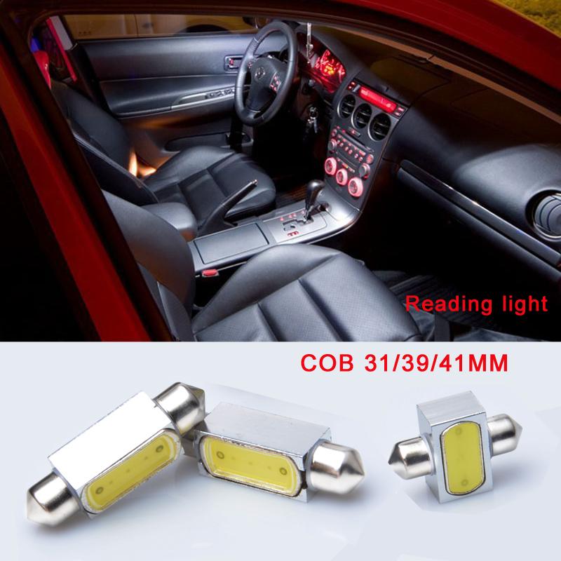 Hot Sale & Hight Quality 31mm 39mm 41mm COB Led Car Dome Festoon Interior Light Bulbs Auto Roof /Waterproof(China (Mainland))