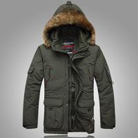 men parkas winter 2014 new fashion Men's down coat/jacket/jackets,keep warm-40c and waterproof plus size 4xl 5XL 6XL WCF