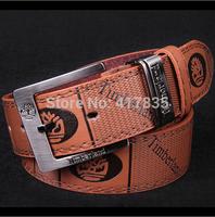 Wholesale 2014 Men's Cowskin Leather Belt Genuine leather Brand Designers Belt Black Brown women Waist belt Free shipping DHL