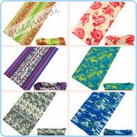 TJ001 2014 scarf female outdoor seamless print scarves multifunctional magic sunscreen magic hip-hop bandanas sunscreen bandanas