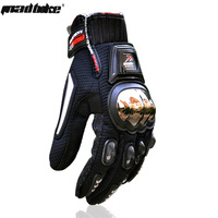 2014 Titanium steel alloy  automobile racing motorcycle  gloves full finger motorcycle gloves guantes luvas