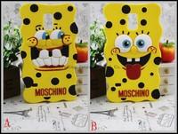 Cartoon SpongeBob SquarePants High Quality Soft Silicone Case For Samsung Galaxy S5 i9600