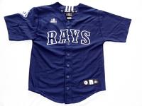MLB plain printing Boys Baseball uniform child version Style Men's short sleeved shirt and quick drying drying baseball