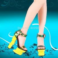 2014 s sandals fashion elegant luxury bright color tyranids