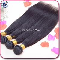 Brazilian virgin hair straight  4 pcs , 8''-30'' brazilian hair weave bundles cheap brazilian straight hair natural black hair