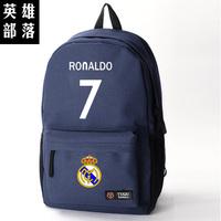 High quality Unisex madrid Ronaldo CR7 backpack,Football bag,canvas,school bag cup,Portugal,fans backpack
