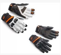 2014 ktm radical x motorcycle bike racing gloves, leather gloves, leather carbon fiber