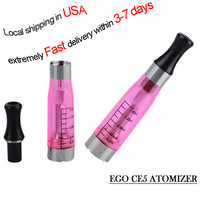 10Pcs Electronic Cigarette 1.6ml CE5 Atomizer CE4 Clearomizer CE4+ Cartomizer Compatible All eGO Battery eGO CE5 Atomizer #G0005