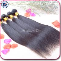 5A Malysian virgin hair straight12-30 mixed length tangle and shedding free malaysian virgin hair 2# 4# natural color human hair