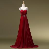 2014 Top Fashion Sale Halter Sexy Dress Vestido Longo Formal Married Train Evening Slit Neckline Bride Design Longbridalk