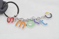 Stainless Steel Smart Car Key Chain, smart fortwo, 451, smart logo key ring
