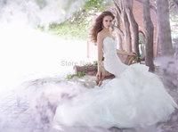2014 lady Lace Bridal Gown Novia Vestido Fashionable Slim Sexy Fashion Gorgeous Boutique Autumn Wedding Dress Gownbridalk