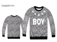 Men's hip hop long sleeve cotton t shirts boy london logo printd man t-shirt high quality tee shirt