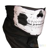 Skull Bandana Bike Motorcycle Helmet Neck Face Mask Paintball Ski Sport Headband 002J