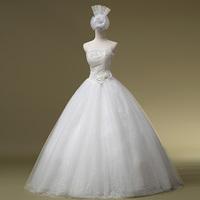 2014 Wedding Dress Offer Vestidos De Noiva Bridal Gown Bride Wedding Luxury Diamond Dress Elegant Princess Bridalk