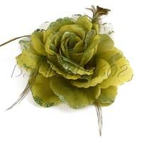Wedding Bride Rose Flower Hair Accessory Clip Beautiful