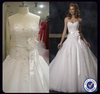 Hot Sale Aline custom made wedding gown WS-360