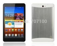 7inch 3G Tablet PC MTK6572 dual SIM phone call  Bluetooth GPS with Flashlight free shipping