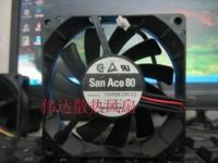 SANYO 8015 109P0812H-722 DC 12V 0.2A Sanyo 8 cm double ball fan