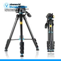 QZSD Q111 DV portable digital camera tripod camera tripod + ball head + Carrying Bag Kit, Max loading 3kg