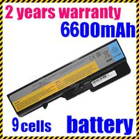 6600MAH Latpop Battery For Lenovo For IdeaPad G460G 121001095 57Y6454 57Y6455 FRU LO9L6Y02 FRU LO9S6Y02 L08S6Y21 L09C6Y02 E47G