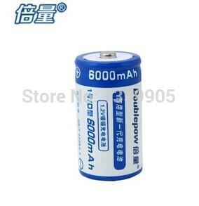 1pcs 1.2 v Nickel cadmium rechargeable batteries, D rechargeable battery 6000 ma, water heater 1 battery(China (Mainland))