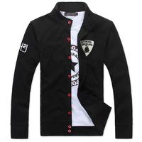 Free shipping 2014 Spring Chinese style men's fashion men's sweater cardigan thin coat size m-xxl