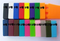 22mm  Silicone Rubber Watch Band Loop Strap Small Holder Locker Keeper loops ---- 18 colors fashion