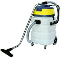 90L Two Motor Wet And Dry Vacuum Cleaner with plastic tank     CH902B