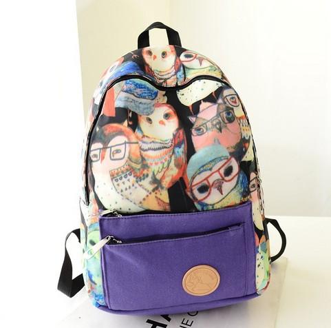 Новинка дети холст мультфильм рюкзаки девочка мальчик студент дети школьный портфель дорожная сумка