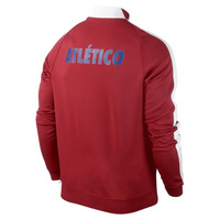 New 14 15 Atletico de Madrid red jackets thai quality football coat soccer outer garment men's sports appearance outer jacket