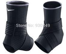 Adjustable Ankle Support Pad Protection Elastic Brace Guard Support Badminton/Football /Basketball/taekwondo brace 2PCS=1PAIR(China (Mainland))