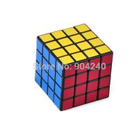 New ShengShou Magic Cube 4x4 Speed Cube Twisty Magic Puzzle 4x4x4 Black 6.0cm Educational Toys Twist Puzzle Children Gift Toys