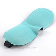 1PCS Travel Sleeping Comfort Rest 3D Eye Mask, Shade Sponge Cover Blinder Blindfold, Free Shipping Y50 MPJ094(China (Mainland))