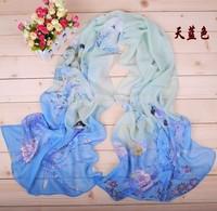 outside the single poop, zero profit cheap feedback   Manufacturers supply new Primula Figure sunscreen chiffon long scarf
