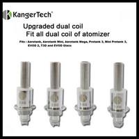 Authentic Kangertech New Kanger Upgraded Dual Coil Head for Protank 3.Mini 3. Aerotank. EVOD 2. T3D. Mini Aero. Aero Mega