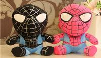 2014 new chirstmas gift 18 cm spider-man plush toys birthday gift plush doll