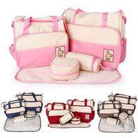 Mother infanticipate mummy Baby mom bags fashion Diaper nappy maternity bag multifunctional double-shoulder cross-body handbag
