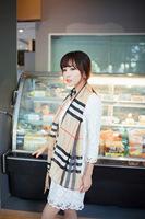 Hot Fashion Cute British Pattern Check Plaid Chiffon Scarf Wrap Shawl for lady girl's gift
