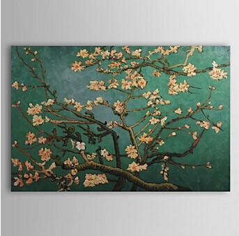 Pintados à m?o pintura a óleo ramos de amendoeira em flor de Van Gogh Paisagem(China (Mainland))